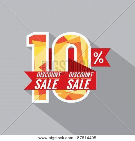 Discount 10 Percent Off.