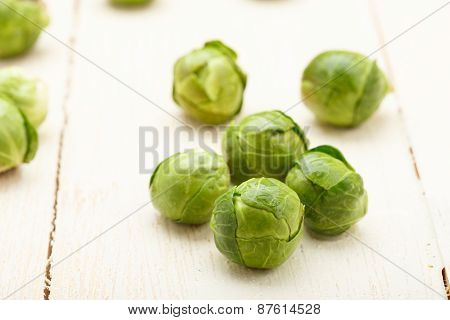 Brussels Sprouts Closeup