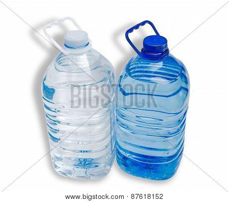 Two Water Bottle