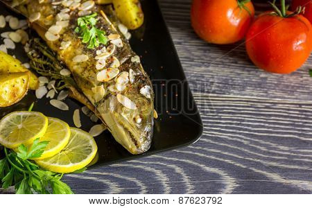 Fried Trout With Almonds