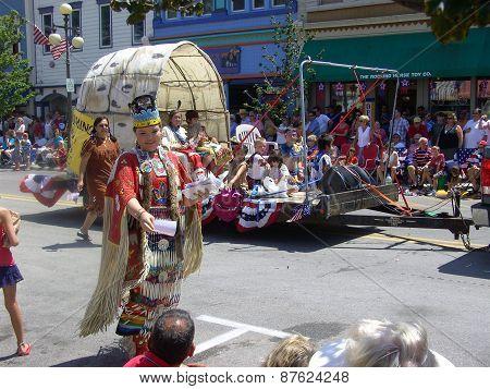 Odawa Indians at Harbor Springs 4th of July Parade