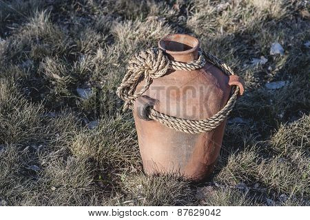 Rustic Terracotta Clay Pot
