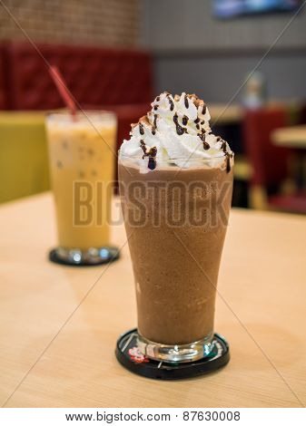 Delicious Chocolate Frappe