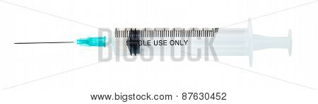 Medical Plastic Disposable Single Use Syringe
