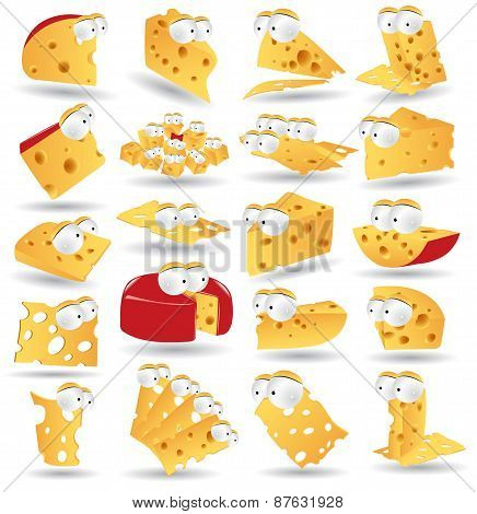 Cheese Icon Character Collection