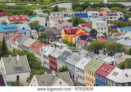 Reykjavik city, Iceland.