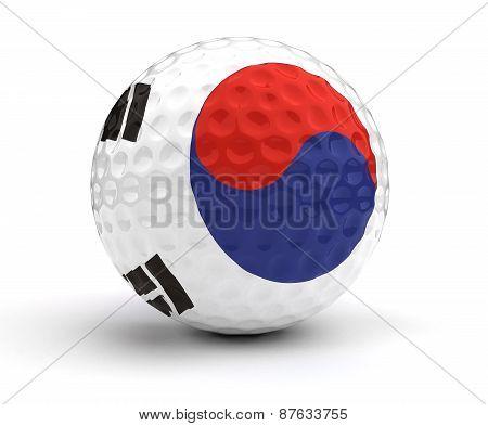 South Korean Golf Ball