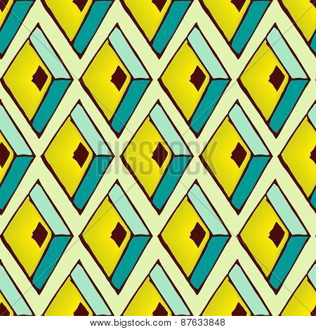 Abstract pattern in african style. Geometric background.