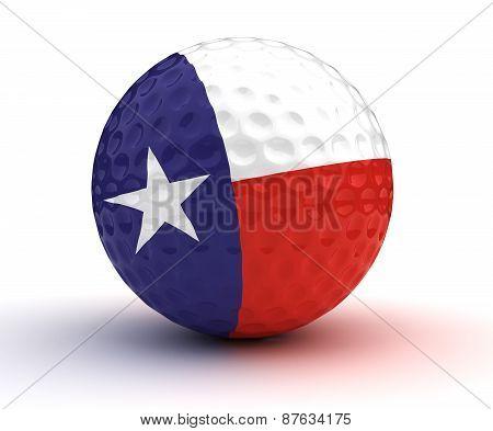 Texas Golf Ball