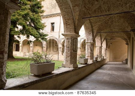 Cloister Of Church St. Francesco