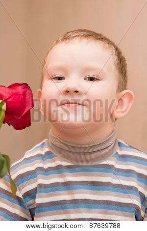 Boy And Rose