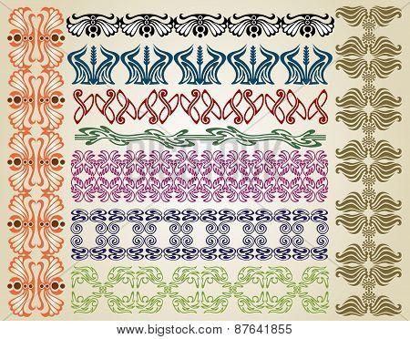 Pattern Art Nouveau