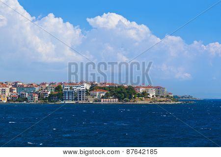 Dardanelles Channel at Turkey - travel background