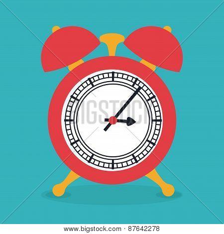 Time design, vector illustration.