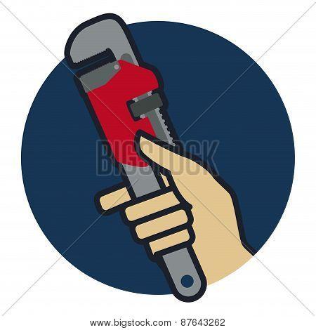 Tools design, vector illustration.