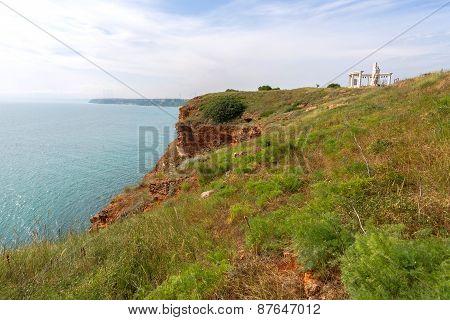 Bulgaria, Black Sea. Coastal Landscape. Kaliakra Headland