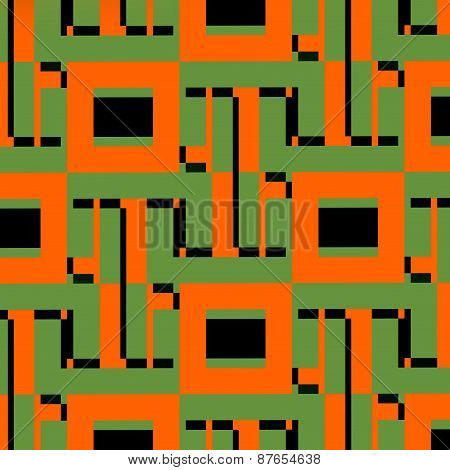 Network concept. Abstract web illustration. Technology pattern. Digital geometric design elements.