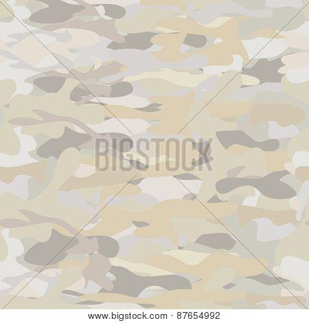 Khaki camouflage repeat pattern
