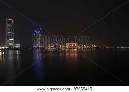 Emirates Palace Night View