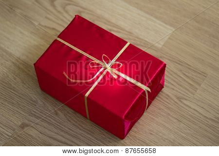 Close-up of Red Gift.
