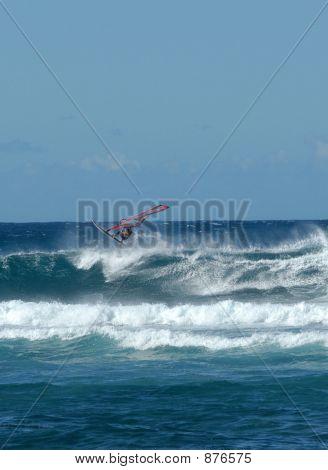 Volando sobre las olas