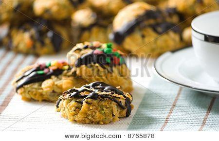 Cornflakes Cereal Cookies
