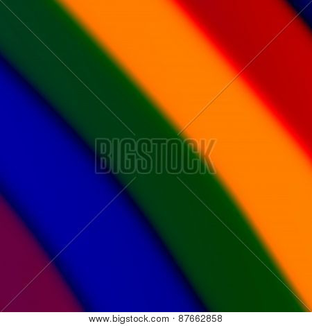 Abstract rainbow effect. Creative colorful background. Drug trip concept. Blue green illustration.