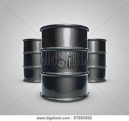 Oil Barrel Set 2