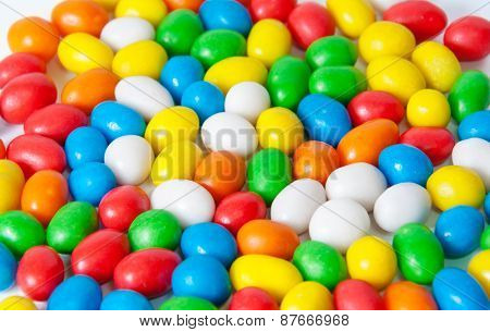 Colorful Candies. Selective Focus