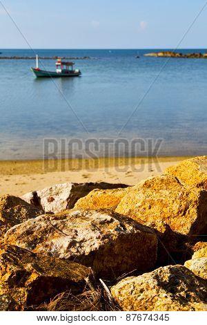 Asia In   Bay The  Koh Phangan    Sea