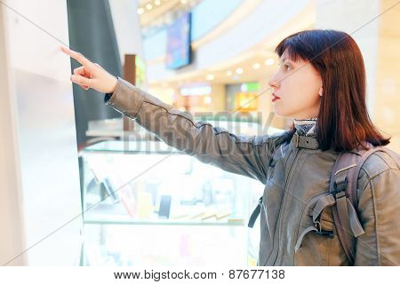 Woman at the Shopping Mall