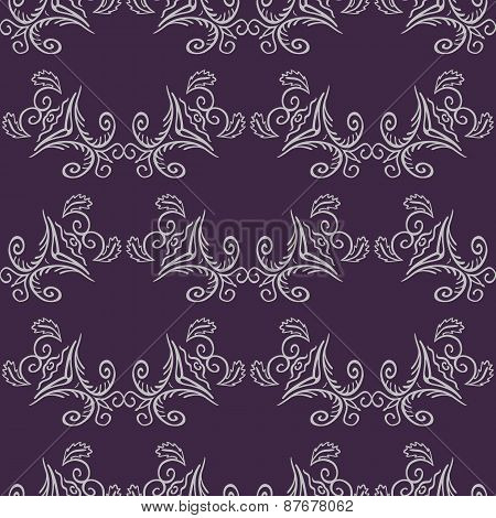 Seamless Pattern With Ornament