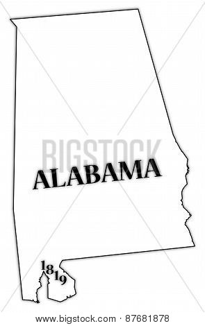 Alabama State And Date