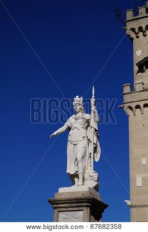 Statue in San Marino