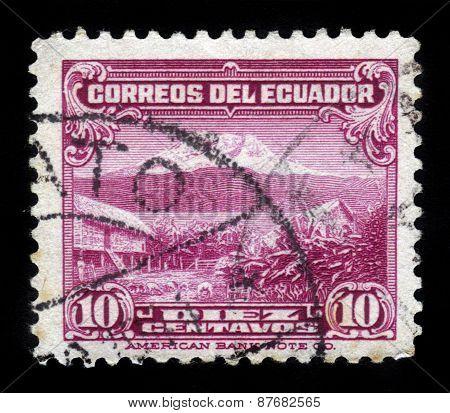 Mount Chimborazo In Ecuador