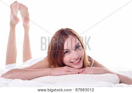 Charming Woman Smile