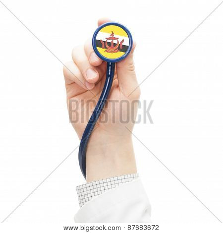 Stethoscope With National Flag Series - Brunei