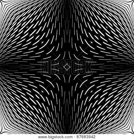 Design Monochrome Abstract Backdrop
