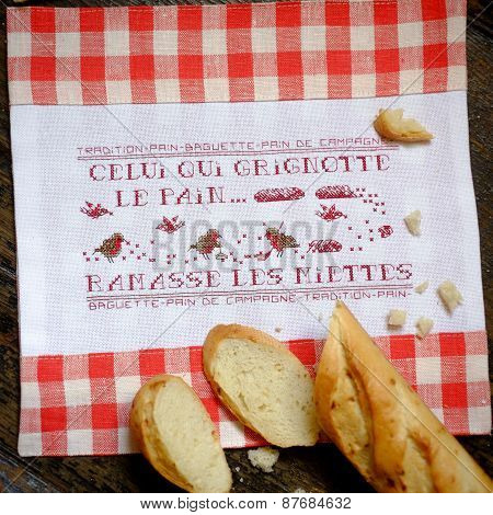 Baguette And Embroidery