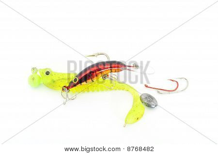 fishing tackle assortment