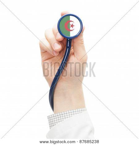 Stethoscope With National Flag Series - Algeria