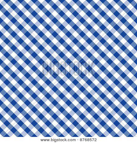 Seamless Cross-weave Gingham Pattern