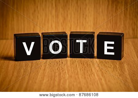 Vote Word On Black Block