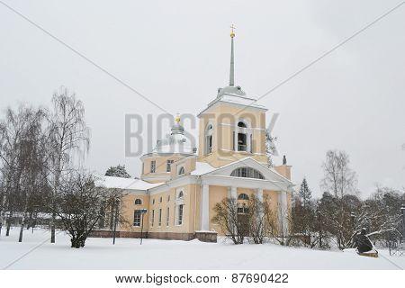 St. Nicholas Orthodox Church In Kotka.