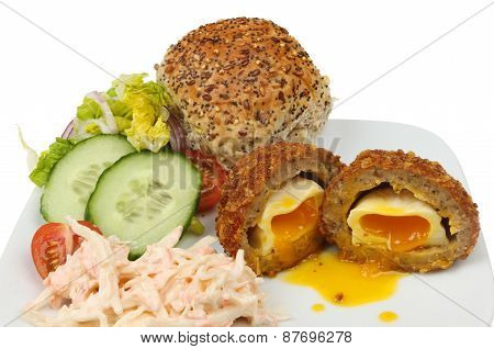 Scotch Egg Salad