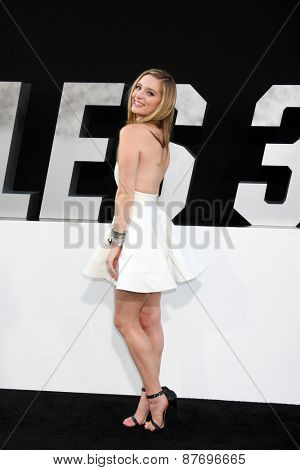 LOS ANGELES - AUG 11:  Greer Grammer at the