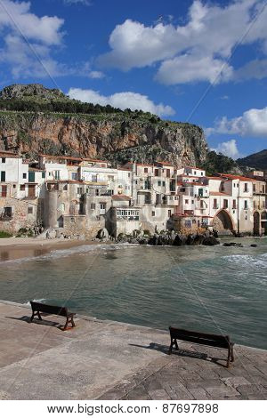 Italy. Sicily Island . Province Of Palermo. Cefalu.