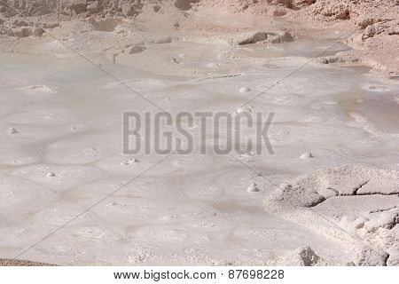 Paint Pots In A Thermal Pool