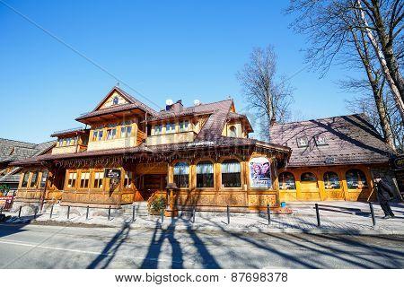 Villa Slimak  In Zakopane, Formerly Zoska