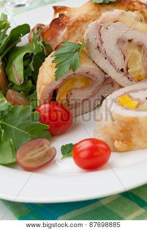 Chicken Prosciutto Roulade
